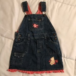 Classic Pooh Disney Denim Dress 24M